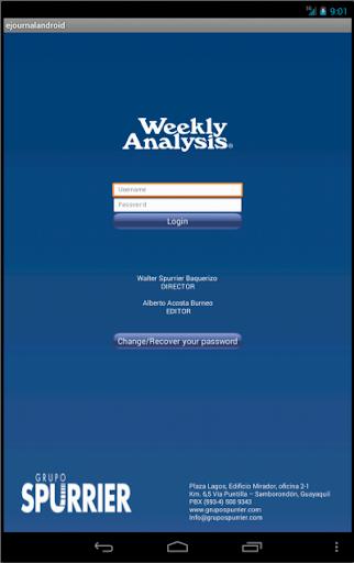 Weekly Analysis