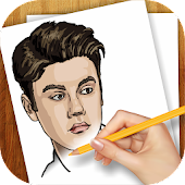 Learn to Draw Justin Bieber