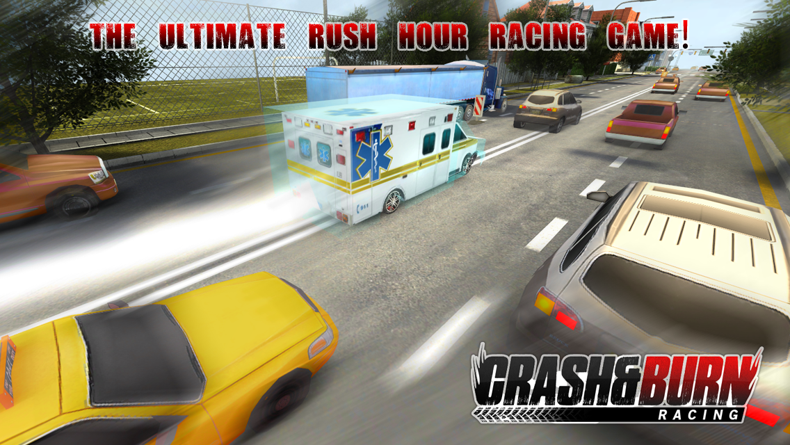 Crash and Burn Racing screenshot #2