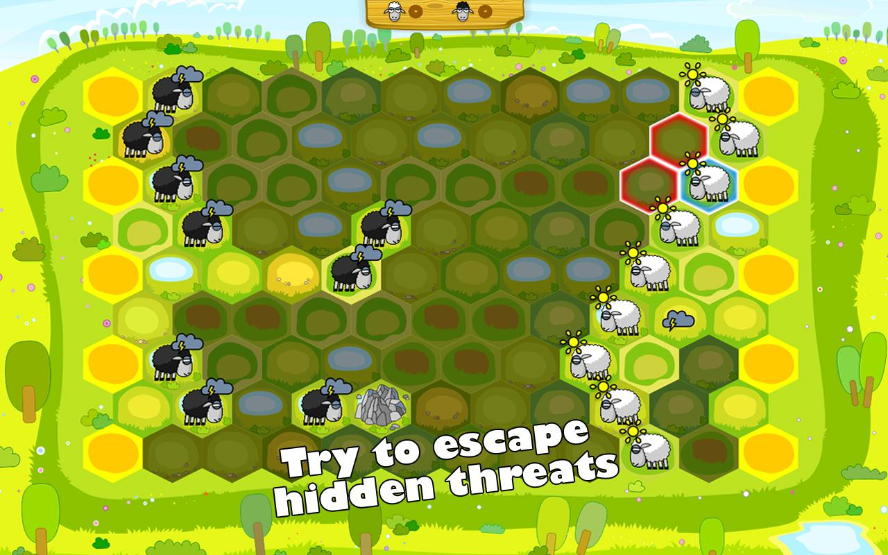 Opposite Sheep - screenshot