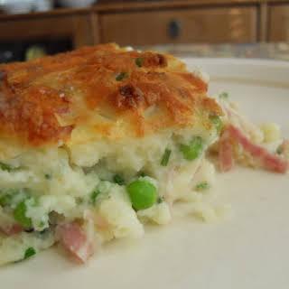 Potato Cheese And Ham Pie Recipes.