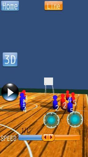 無料运动Appのバスケットボール 戦略ボード Mini|記事Game
