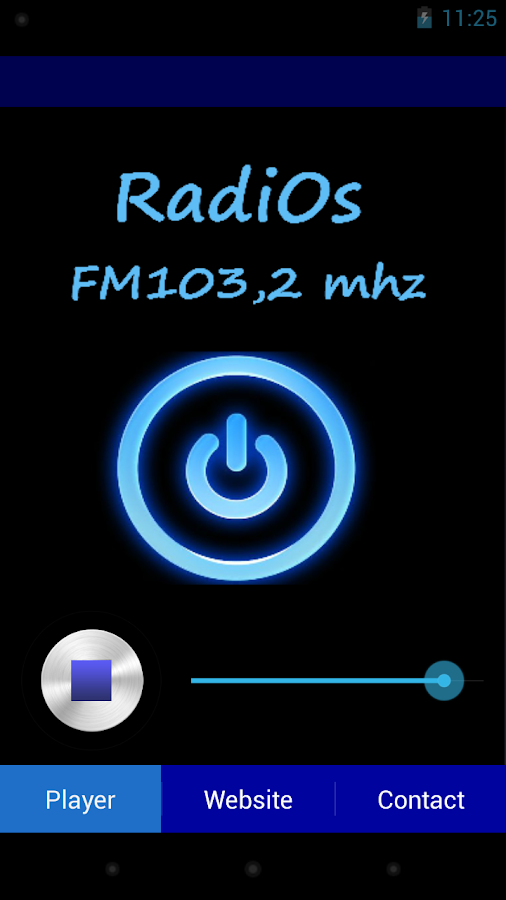 RadiOs - screenshot