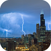 Tall Building Lightning LWP