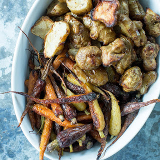 Roasted Sunchokes and Carrots