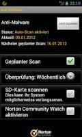 Screenshot of Norton Security