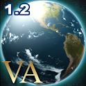 VA Earth Live Wallpaper logo