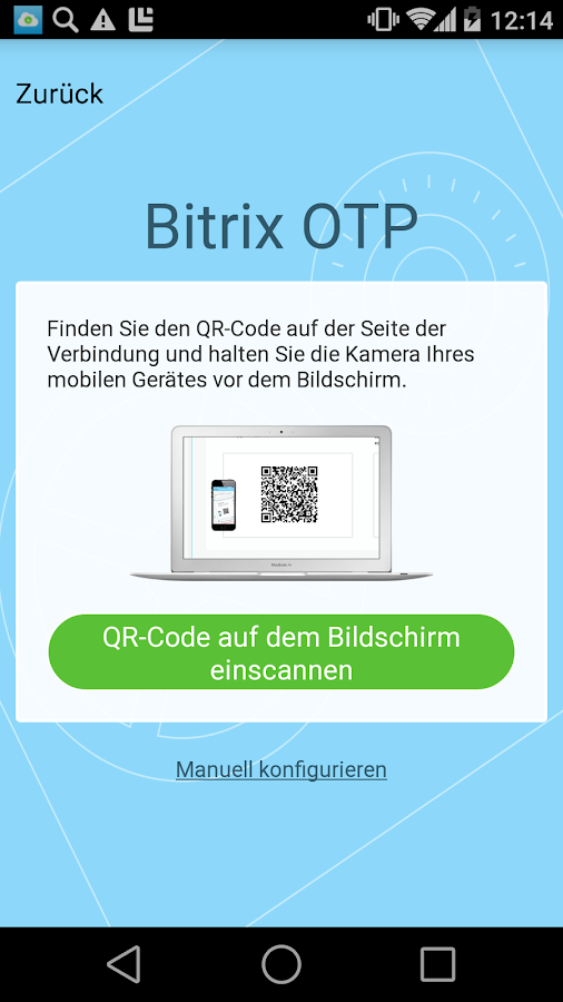 Bitrix24 OTP – Screenshot