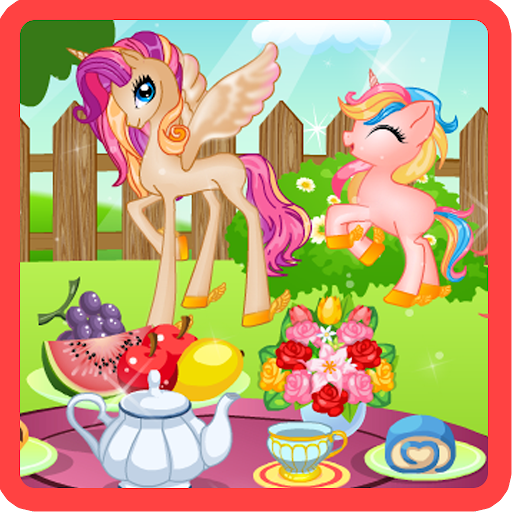 Pony Princess Tea Party