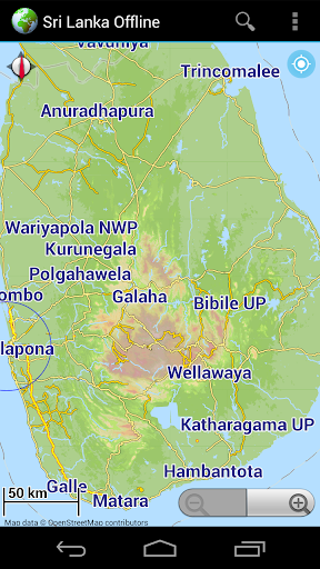 Offline Map Sri Lanka