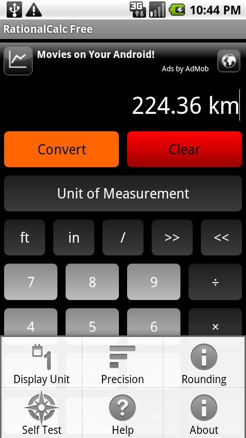 RationalCalc Free- screenshot