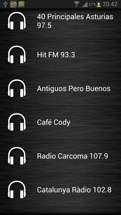 Live Radio Spain - screenshot