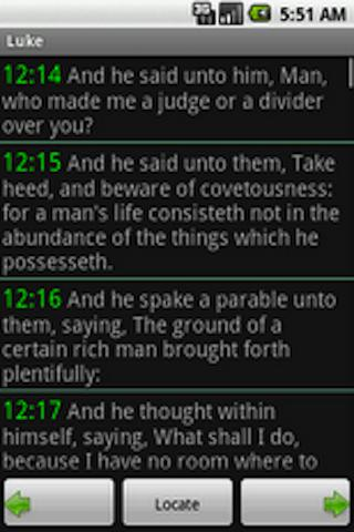World English Bible - screenshot