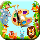 Baby painter icon