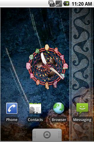 Dream Catcher Clock- screenshot