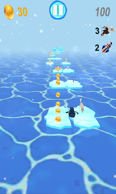 Penguins Runner - screenshot