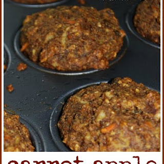 Carrot Apple Muffins.