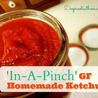 In-A-Pinch GF Homemade Ketchup