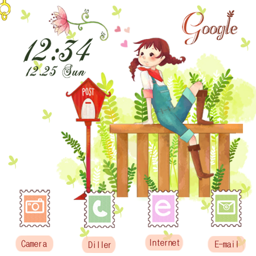 CUKI Theme Waiting for you LOGO-APP點子