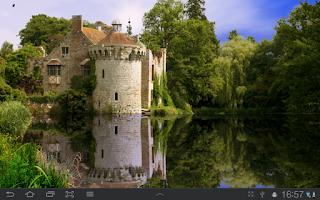 Screenshot of Scotney Castle Live Wallpaper