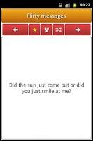 Screenshot of Flirty & Love Messages