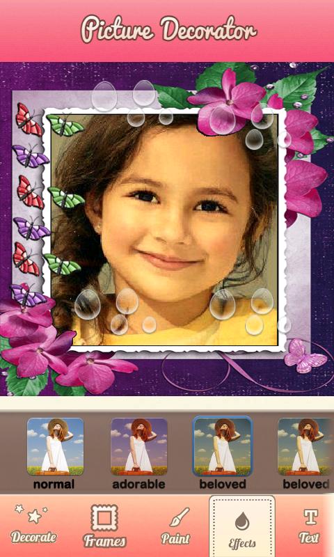 photo decorator pic editor screenshot - Photo Decorator