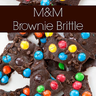 M&M Brownie Bark