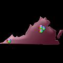 Virginia Fishing Maps – 10K logo