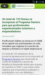 Andalucia Emprende - screenshot thumbnail