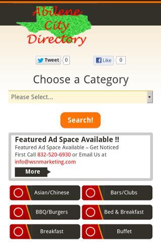 Abilene City Directory
