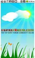 Screenshot of Expat Forum Community For Expa