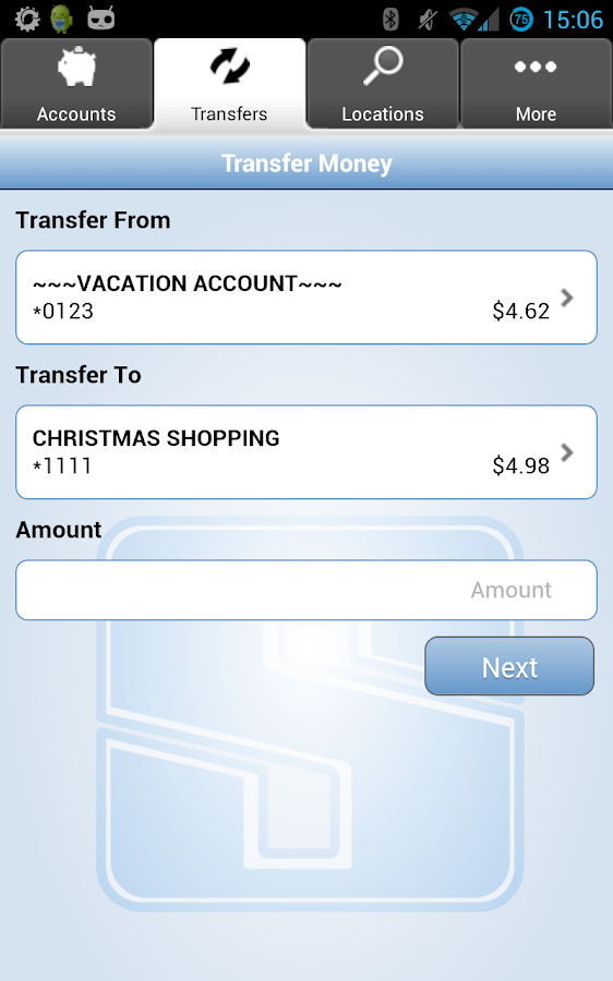 The State Bank Mobile Banking - screenshot