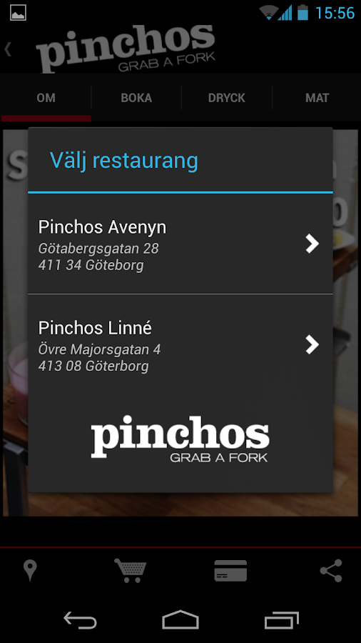 Pinchos Restaurant - screenshot