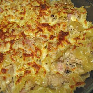 20 Minute Farfalle Pasta and Tuna.