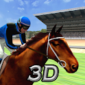 Virtual Horse Racing 3D logo