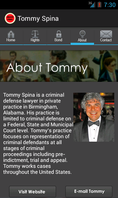 Tommy Spina- screenshot