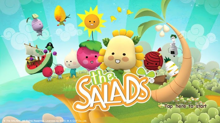 The SALADS - screenshot