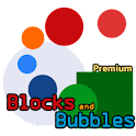 Blocks and Bubbles – FULL GAME logo