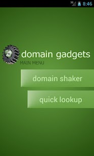 Domain Gadgets - screenshot thumbnail