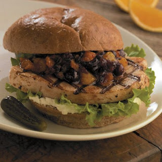 Turkey Sandwiches With Cranberry Relish.