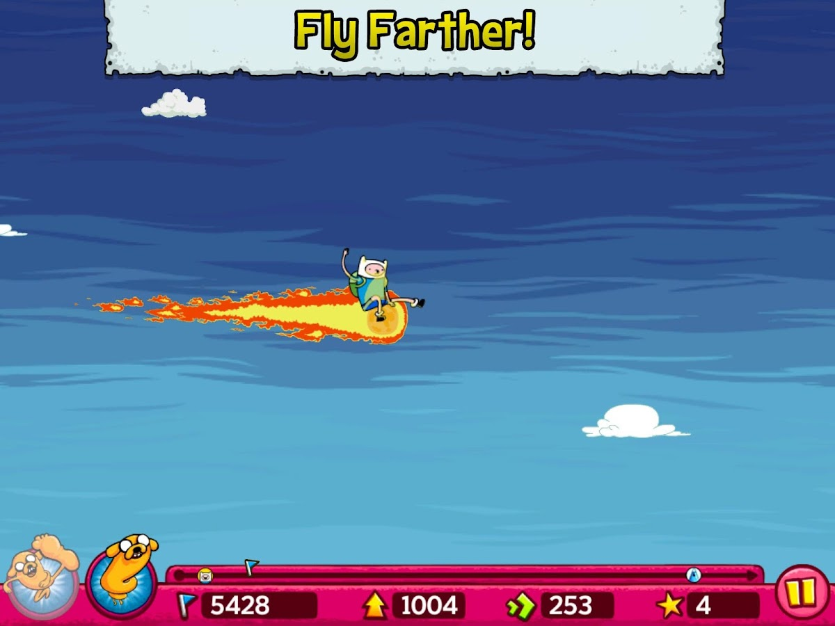 Jumping Finn Turbo- screenshot
