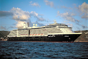 Holland America's Zuiderdam sails the Panama Canal, the Caribbean and up and down the Pacific Coast.