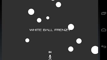 Screenshot of White Ball Frenzy