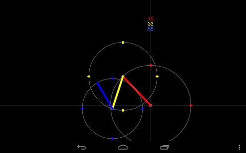 ExZentric Clock Live Wallpaper - screenshot thumbnail
