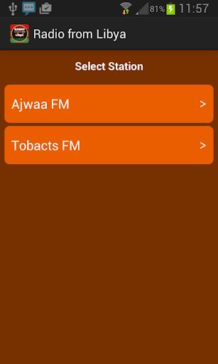 Radio from Libya