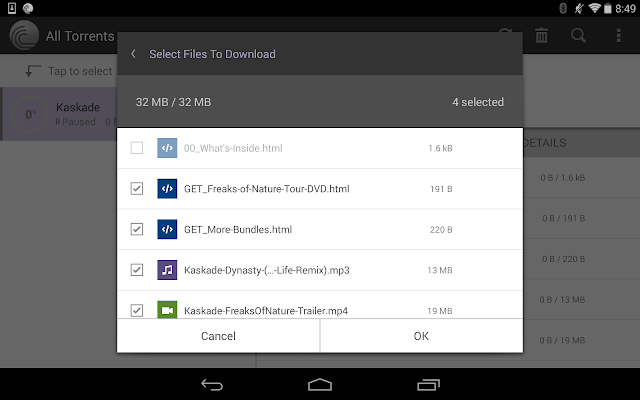 BitTorrent® Pro - Torrent App - screenshot