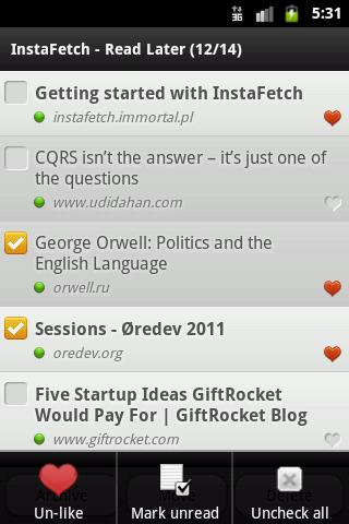InstaFetch Lite- screenshot