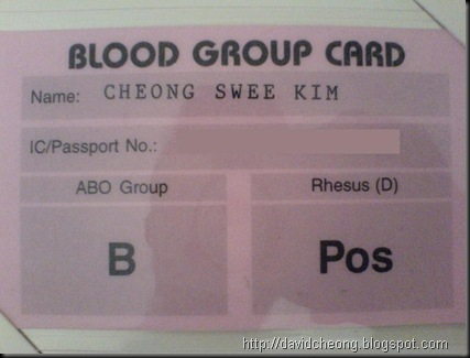 Blook group card