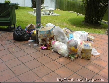 Rubbish in titiwangsa