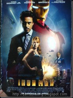 Iron men premium screening invitation